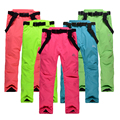 Free shipping new 2016 Germany waterproof ski pants womens high quality snowboard men winter skiing pants