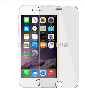 """free shipping pelicula de vidro screen protector tempered glass protective film to phone for iphone 6 4.7"""" with cleaning tools(China (Mainland))"""