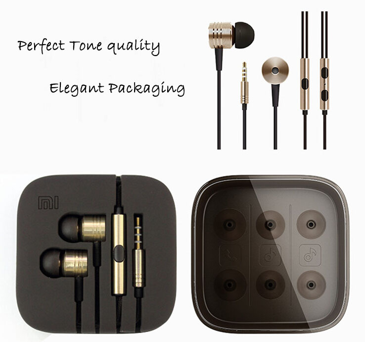 Top quality mega bass updated version 3 5mm XIAOMI Earphone Headphone Ears headset For XiaoMI Samsung