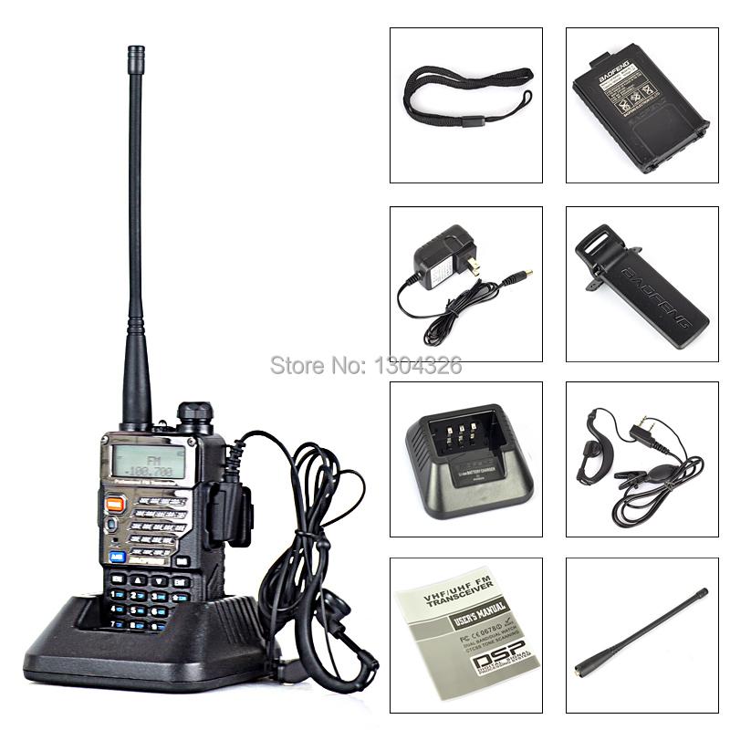 Baofeng UV-5RE UV 5RE Pofung Two Way Ham CB Portable Radio Comunicador Amador Walkie Talkie Station VHF UHF Dual Band Walk Talk(China (Mainland))