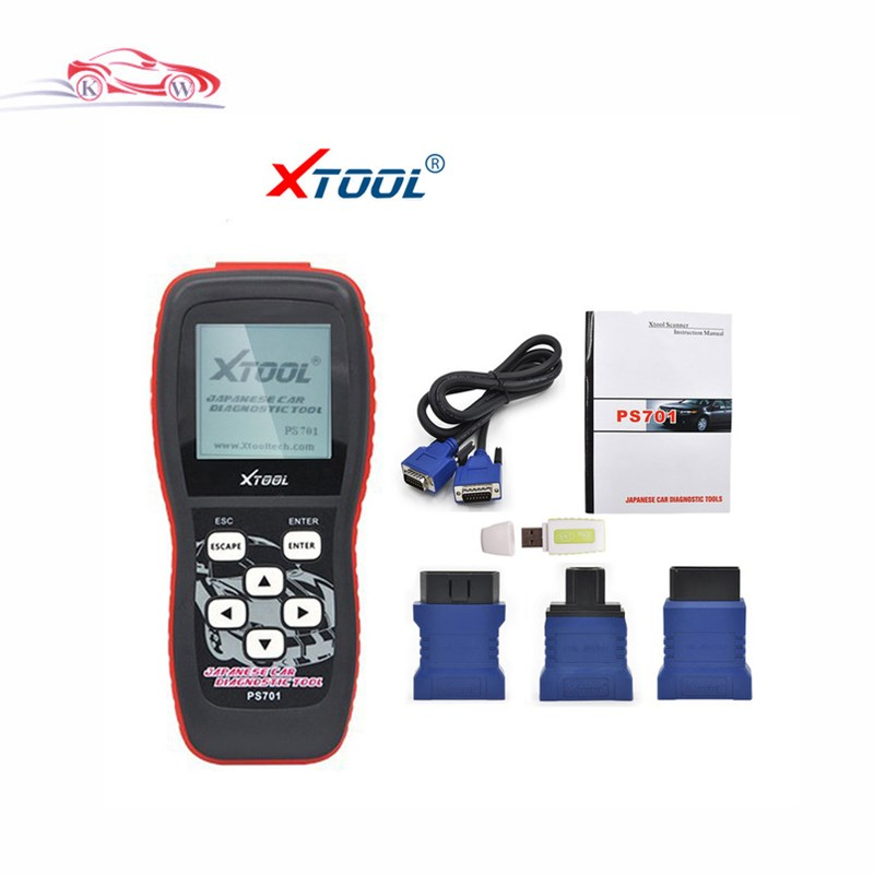 Top 2017 Super Performance XTOOL PS701 Diagnostic Tool for Japanese cars supports testing electronic control systems PS701 XTOOL(China (Mainland))