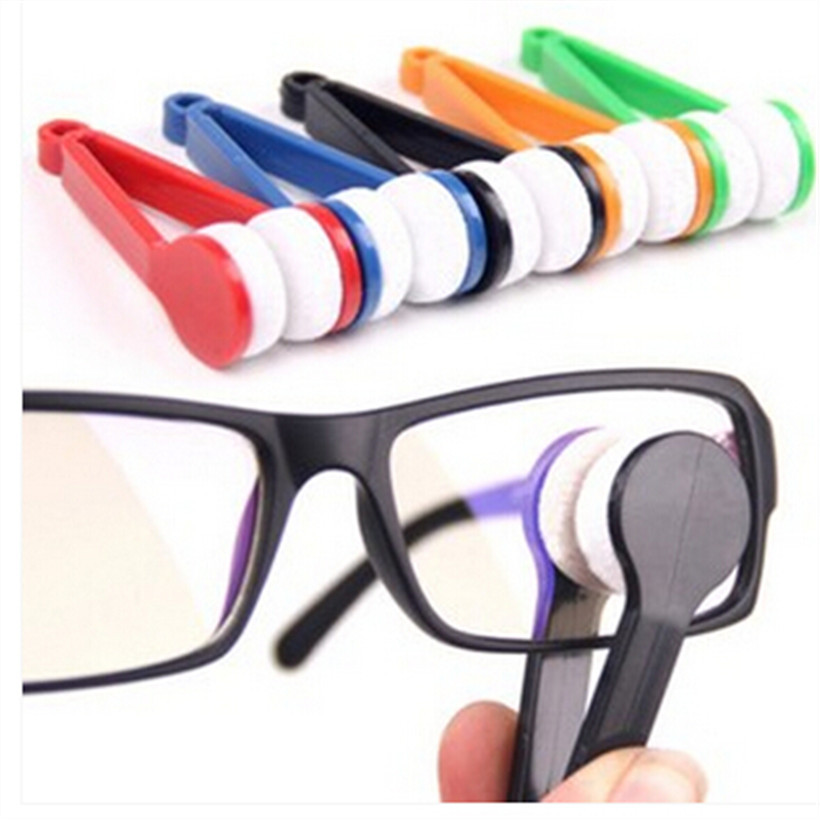 Retail Portable Multifunctional Glasses/Sunglasses Cleaning Cloth Microfiber Wipe Eyeglass Cleaner Free Shipping 1pcs/lot ry196(China (Mainland))