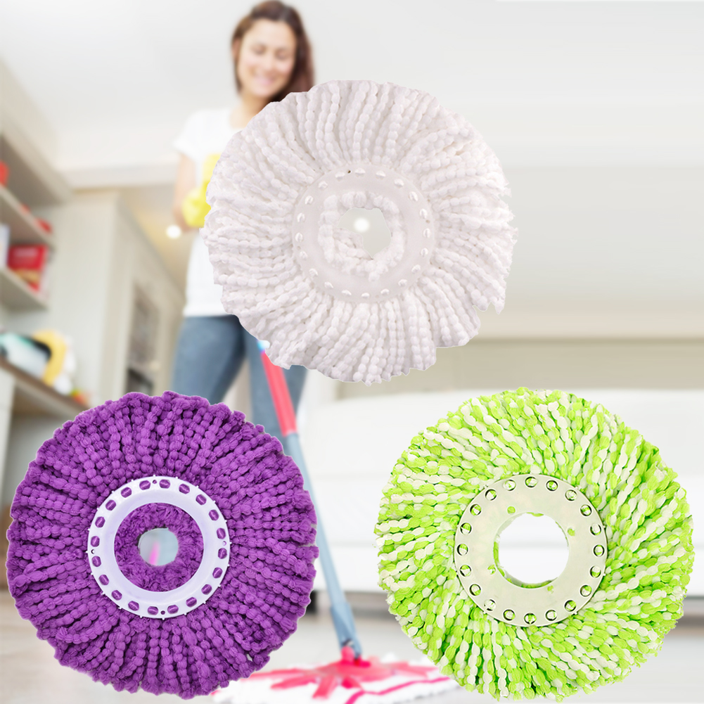 New 360 degree Microfiber Mops Head To Mop Home Clean Tools Refill For 360 Magic Easy Spin Mops Super Water Dust Absorbing(China (Mainland))