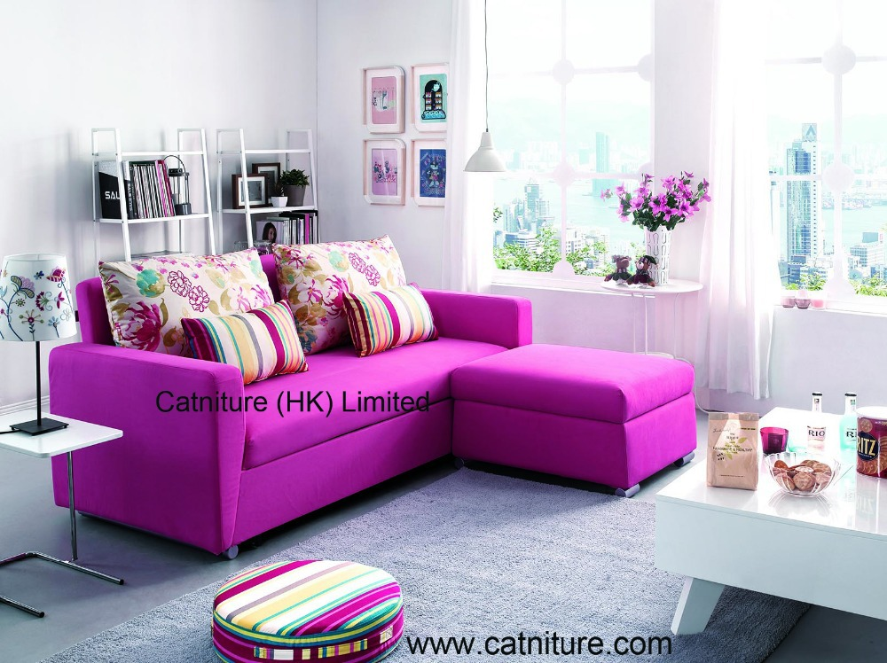 2014 Modern Colorful Hot Selling Corner Sofa Set Living
