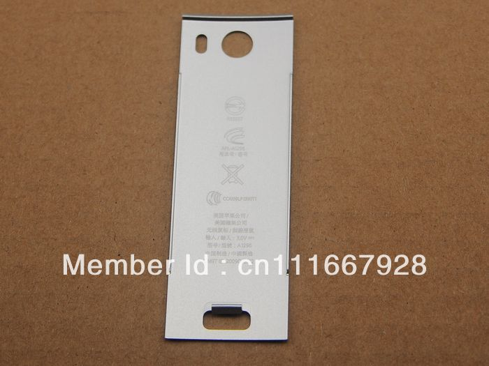 Aluminium Battery Cover Back for Apple Mac Wireless Magic Mouse MB829LL/A A1296(China (Mainland))