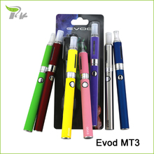 Evod e cigarette ego electronic e cigarette mechanical mod portable vape pen e cigarette mt3 atomizer