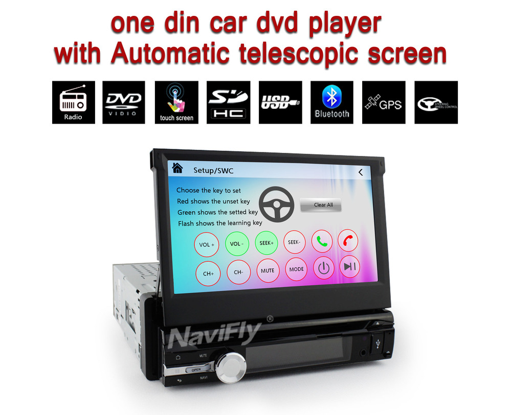 2015 New Arrival!car Radio,car Stereo Player One Din Support BT/AUX