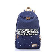 2015 Bolsas Mochila Escolar Fashion Canvas Backpacks For Teenage Girls Women Outdoors Backpack School Bags Rugzak Sac A Dos(China (Mainland))
