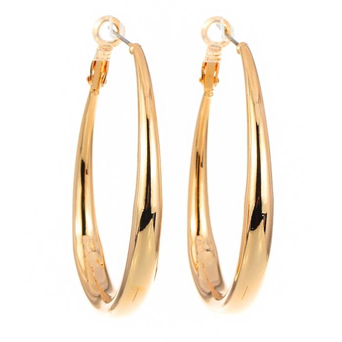 Luxury Gold Hoop Earrings Ladies | Jewellry\'s Website