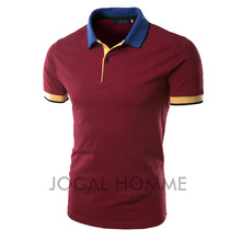 2016 New Arrival Men Classic Polo Shirt Short Sleeve Pure Color Design High Quality Men Slim fit Casual Polo Clothing