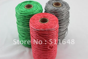 Free Shipping 1000m 1300lb SL Dyneema Fiber braid mountain climbing rope 2.3mm 16 strands super power