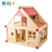 Simulation Room/Furniture children house toy set intelligence Assembly dollhouse(China (Mainland))