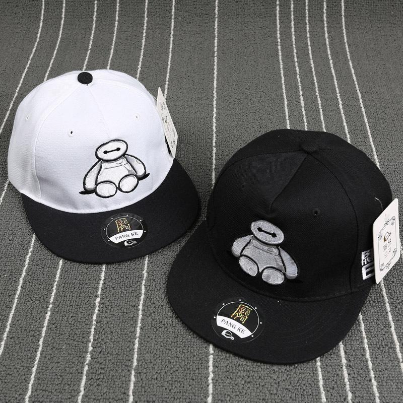 2015 Big Hero 6 cartoon Snapbacks caps most popular men's & women's fashion Adjustable baseball hats(China (Mainland))