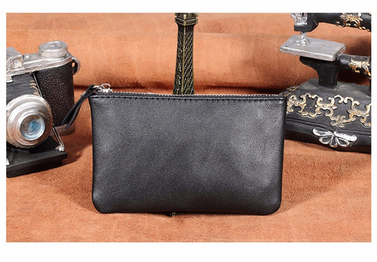 genuine leather wallet purse women coin (9)