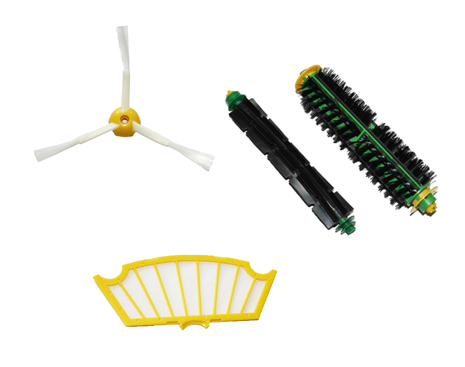 Free Shipping Side Brush Filter Mini Kit 3 Armed for iRobot Roomba 500 Series robot vacuum cleaner vacuum cleaner filter(China (Mainland))