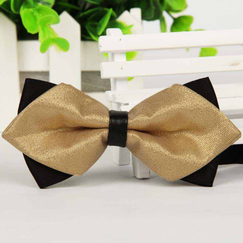 1 Pcs 2015 Fashion Men s Printing Formal Bowtie Casual Jacquard Tie Adult Male Neck Bow
