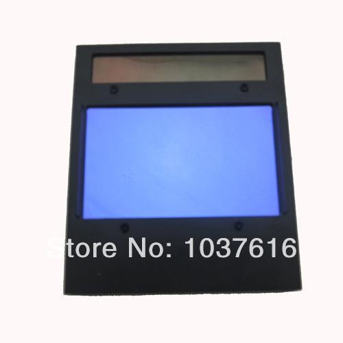 4 Arc sensor big sreen Solar LI battery auto darkening TIG MIG MMA MAG electric welding mask/helmets/welder cap filter lens(China (Mainland))