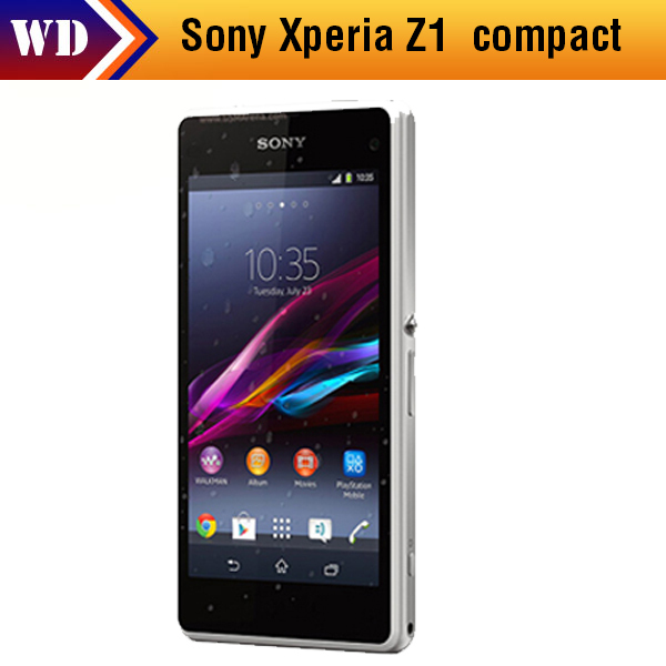 "Original Sony Xperia Z1 Compact D5503 z1 mini Smartphone GSM 3G&4G Android Quad-Core 2GB RAM 4.3"" 20.7MP WIFI GPS 16GB ROM(China (Mainland))"