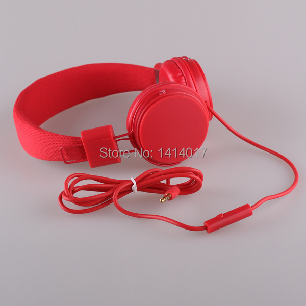EARFUN Original E5 Folding Stereo Headphones Earphones For PC iPhone Samsung Xiaomi Sports headset with Microphone cable control