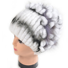 Genuine Rabbit fur grass hat 2015 new Rex bars woman leather hat winter fur hat wholesale retail Free shipping