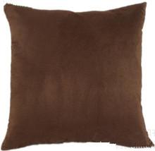 Dark brown cushion covers throw pillows