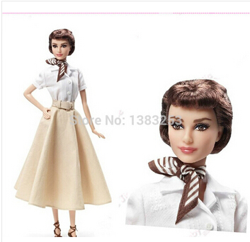 Free Shipping Fashion doll Limited edition collector 30cm DT-BBWW0162(China (Mainland))