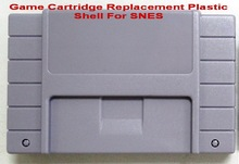 Game Cartridge Replacement Plastic Shell For NTSC SNES game card