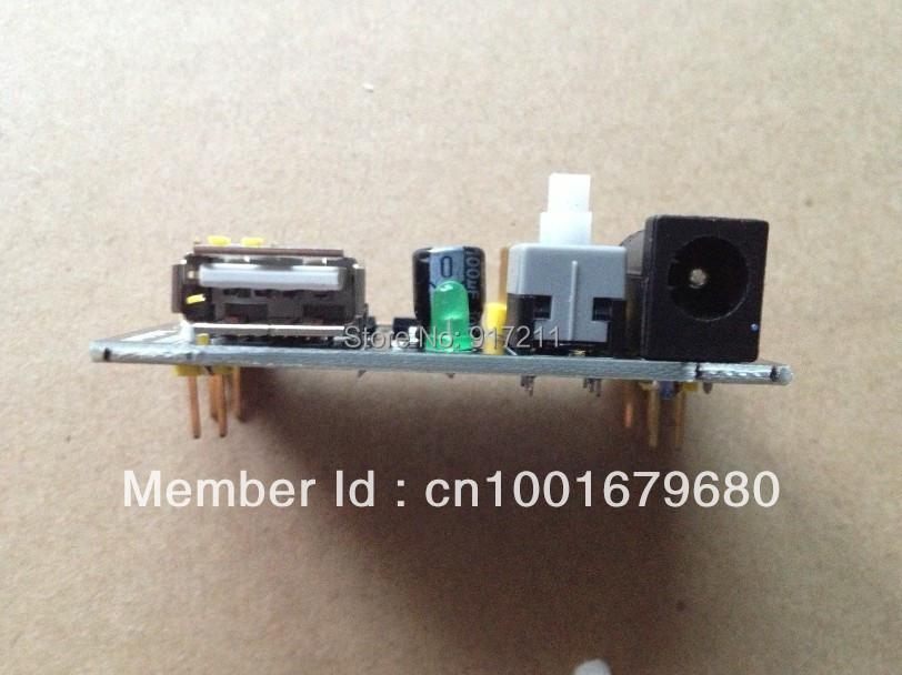 5pcs/lot Breadboard Power Supply Module 3.3V 5V MB102 Solderless Bread Board DIY 2012 New dedicated power module