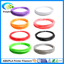 Multicolor 3D Printer Filaments PLA 1 75mm 10M 5PCS lot for Makerbot Reprap Mendel UP Machine