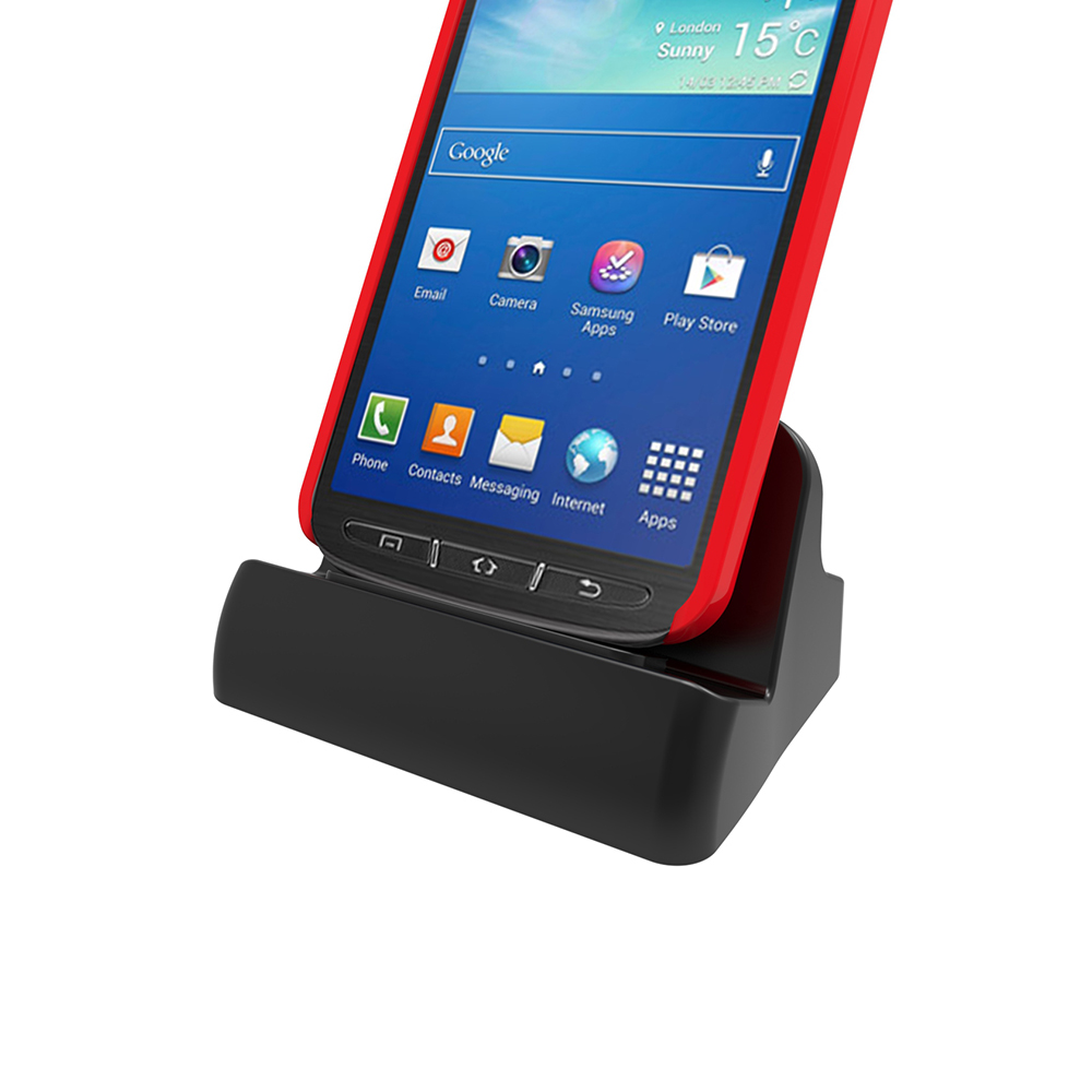 Desktop Cradle Docking Station Charger Dock for Samsung Galaxy S6 S7 Edge S4 S3 S2 Note2 Phone Case Compatible Micro USB(China (Mainland))