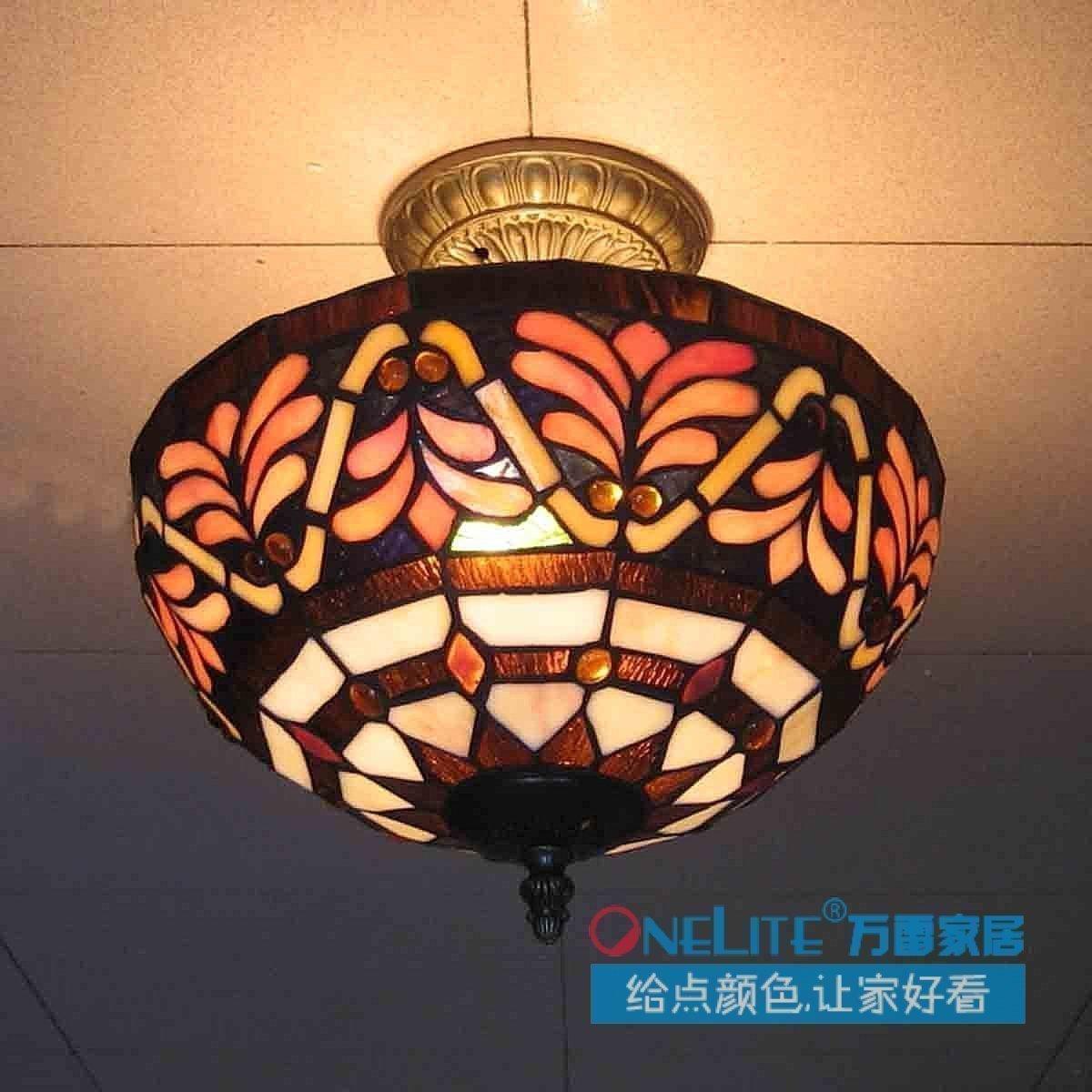 Promoci n de l mpara tiffany venta compra l mpara - Venta de lamparas de techo ...