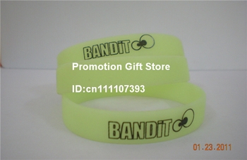 202X12X2MM Printed Logo Silicon Bracelet, Customalized Design Silicon Wristband, Printed Band, Promotion Gift, 200pcs/Lot