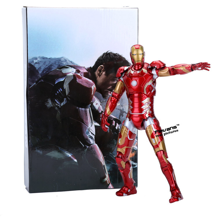 Avengers 2 Age of Ultron Iron Man Mark 43 PVC Action Figure Collectible Model Toy 9 23cm HRFG384<br><br>Aliexpress