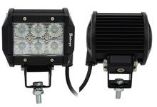 Buy 2pcs 12v led work light bar 18w 3030 led offroad led light bar 3030 led working light spot beam flood lamp trucks for $26.88 in AliExpress store