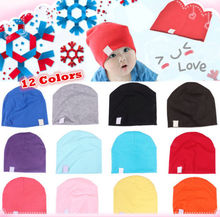 Unisex Cotton Beanie Hat for NewBorn Baby Boy/Girl Kids Soft Toddler Infant Cap(China (Mainland))