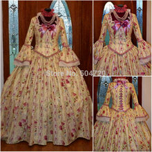 Freeshipping!R-435 Vintage Costumes 1860s Civil War Ball Gothic Lolita Dress Victorian dresses/Renaissance dress