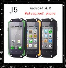 2.4″ I5 Smartphone Mini WaterProof Phone Android4.3 MTK6572 Dual core 512M ROM 3MP Camera I5 Dustproof Shockproof Lphone