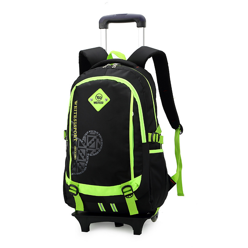 Rolling Luggage Backpack