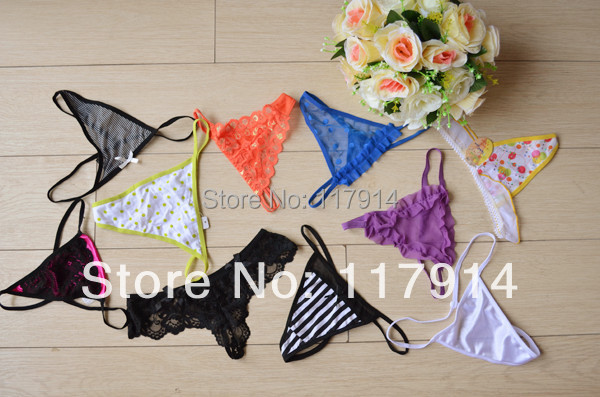 Cheapest Wholesale High quality women charming sexy G-String underwear women panties lace G String thong pink free shipping ZA8(China (Mainland))