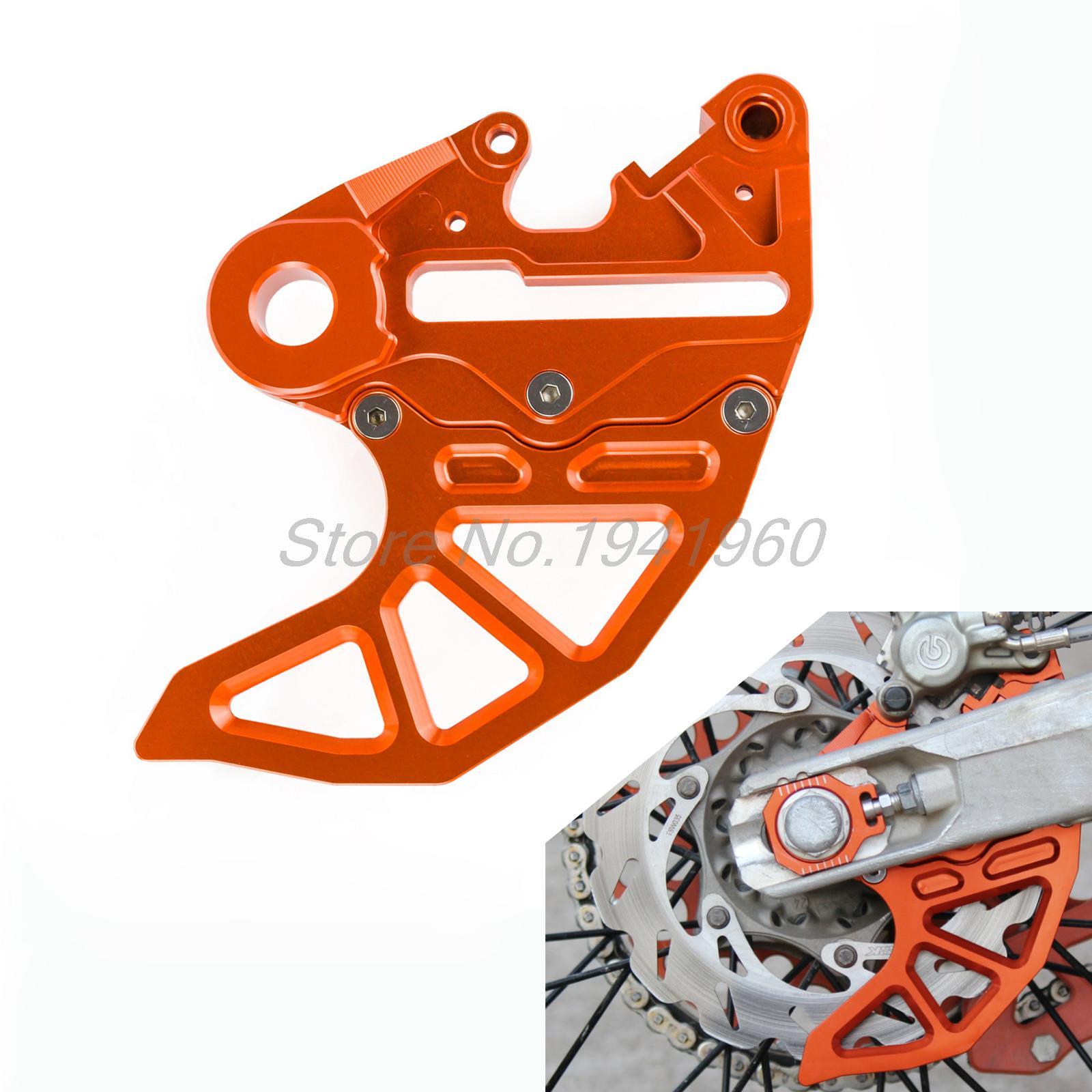 Фотография Billet CNC Rear Brake Disc Guard W/ Caliper Bracket for KTM 125-450 SX/SX-F/SMR/XC/XC-F 2013-2016