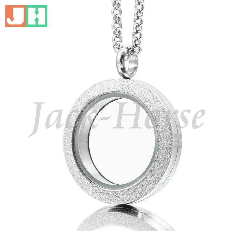 Sparkle stainless steel waterproof locket 25mm 30mm Twist floating Locket screw locket pendant(China (Mainland))