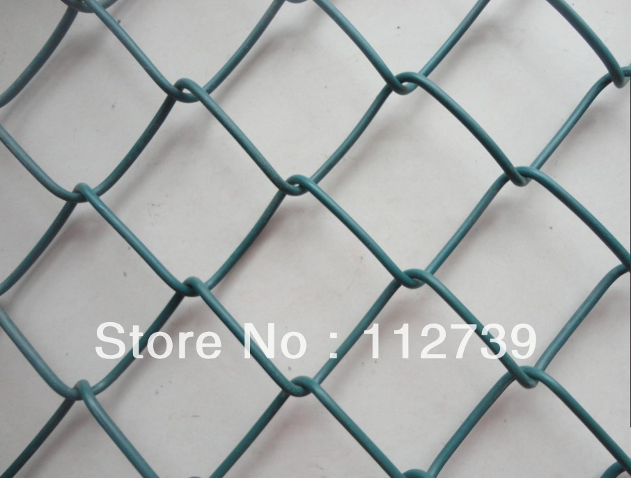 Chain Link Fence High quality low carbon steel, galvanized wire, stainless steel wire