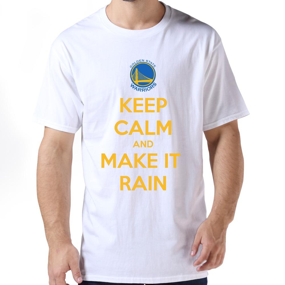 High Quality Keep Calm And Make It Rain T Shirt Hip Pop