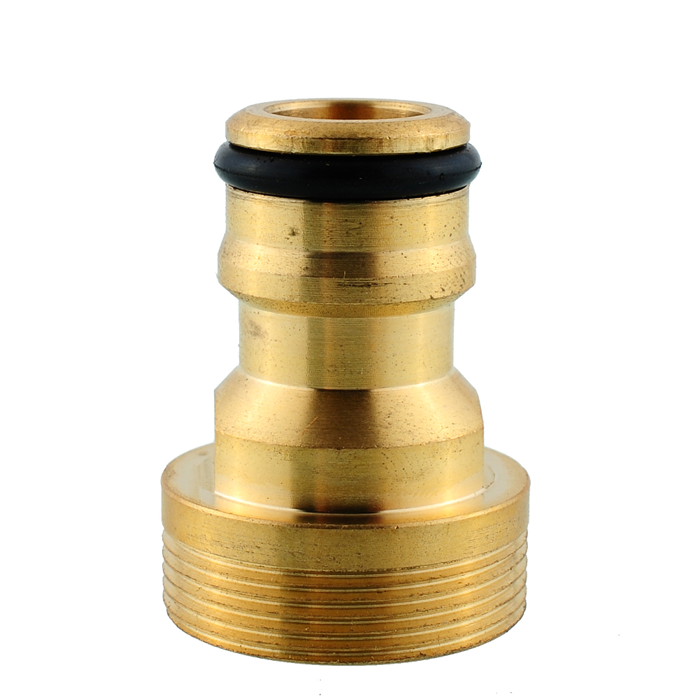 """New Hot 3/4"""" Solid Brass Threaded Hose Water Pipe Connector Tube Adaptor Fitting Garden Outdoor(China (Mainland))"""
