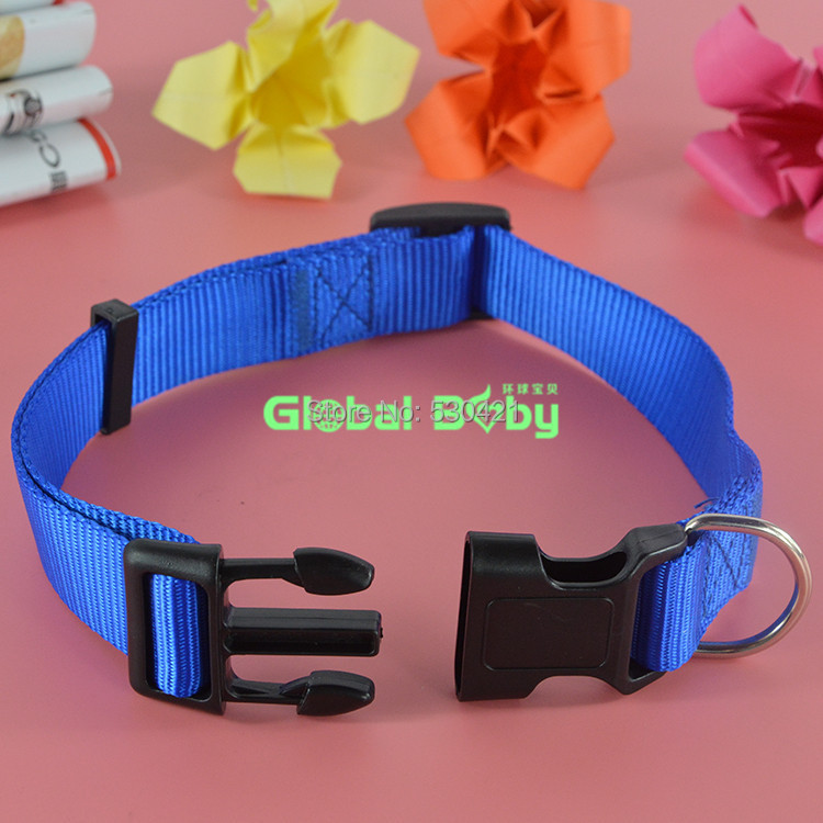 Free Shipping 4 Sizes New Fashion Nylon Dog Pet Collar