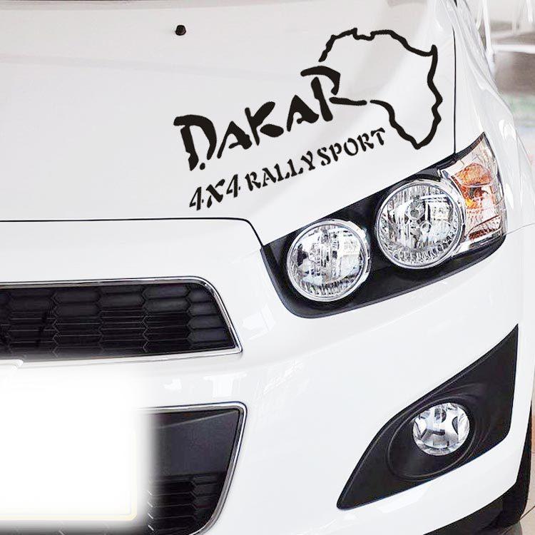 Dakar Rally map Car Window Truck SUV Bumper Auto Door Motorcycle Tool Box Notebook Laptop Sticker Funny Vinyl Decal S-154(China (Mainland))