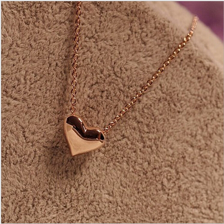 Wholesale new high quality Personalized love hearts necklace short paragraph fashion necklaces & pendants necklaces(China (Mainland))
