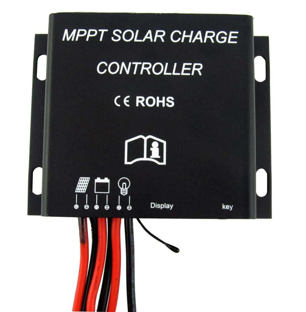 20A MPPT Solar Battery Charge Controller 12V 24V Waterproof Timer IP68 260W/520W #003 A391(China (Mainland))