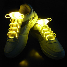 Party Skating Charming LED Flash Light Up Glow Shoelaces Shoe Laces Shoestrings(China (Mainland))