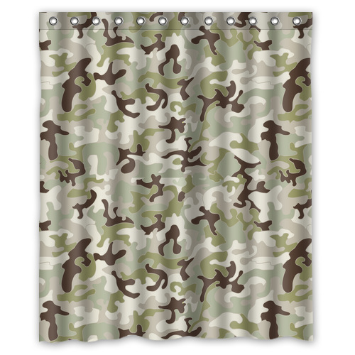 Online get cheap camouflage curtains for Unique shower curtains cheap